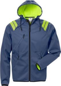 Fristads - Softshell-Jacke mit Kapuze 7461 BON Blau 3XL