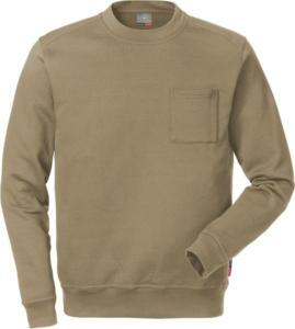 Fristads - Sweatshirt 7394 SM KHAKI 4XL