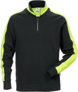 Fristads - Sweatshirt 7449 RTS Schwarz 3XL