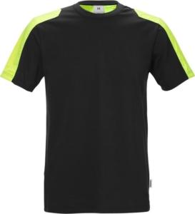 Fristads - T-Shirt 7447 RTT Schwarz 3XL