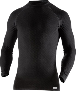 Fristads - T-Shirt Langarm 743 PC Schwarz 4XL