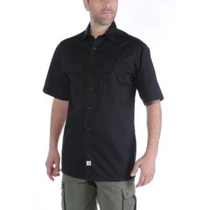 Carhartt - TWILL WORK SHIRT S/S L BLACK