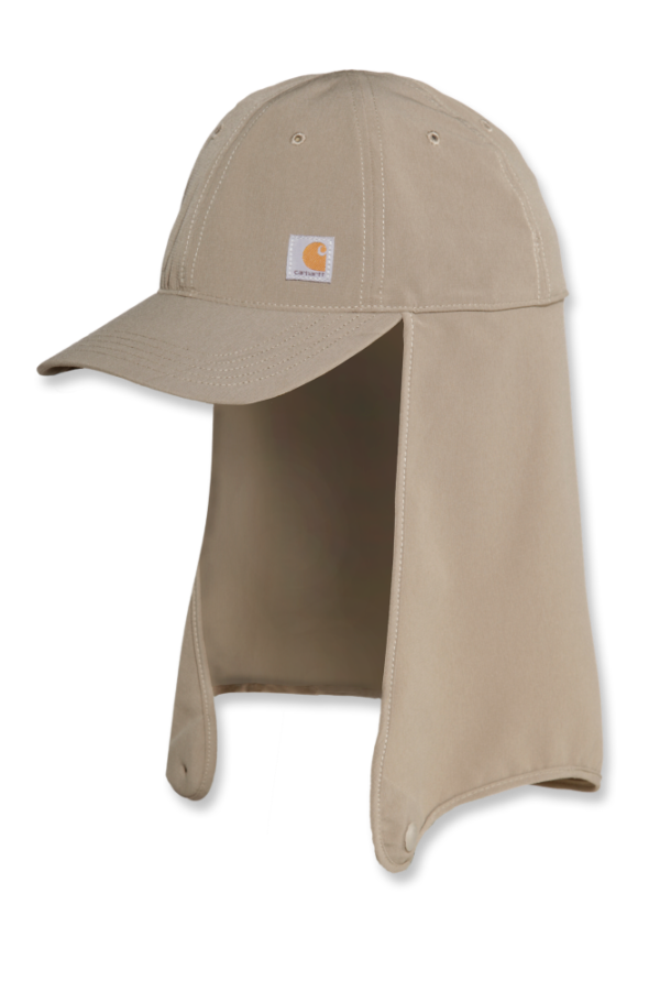 Carhartt - UPDATED NECK SHADE CAP L/XL DESERT