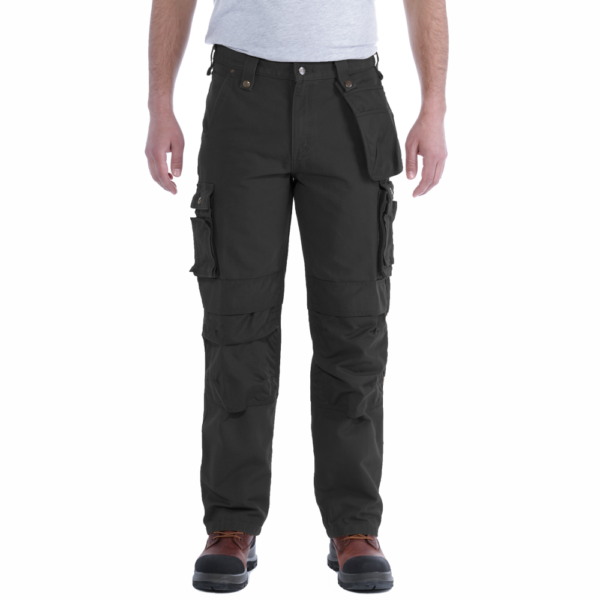 Carhartt - WASHED DUCK MULTIPOCKET PANT W42/L32 BLACK