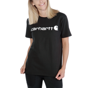 Carhartt - WK195 WORKW LOGO GRAPHIC S/S T-SHIRT XL BLACK