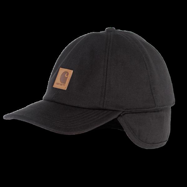 Carhartt - WORK FLEX EAR FLAP CAP L/XL BLACK