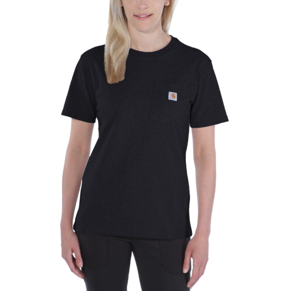 Carhartt - WORKW POCKET S/S T-SHIRT XL BLACK