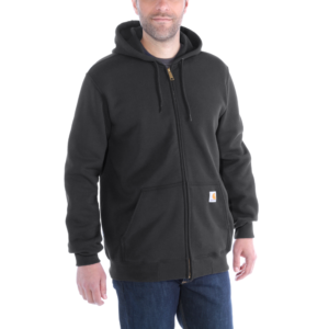 Carhartt - ZIP HOODED SWEATSHIRT XXL CARBON HEATHER