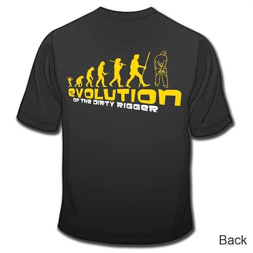 Dirty Rigger - T-Shirt Evolution