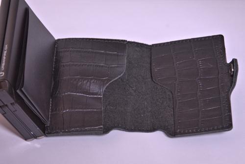 Urban Fire - Card Case Double Leder-Etui BLACK