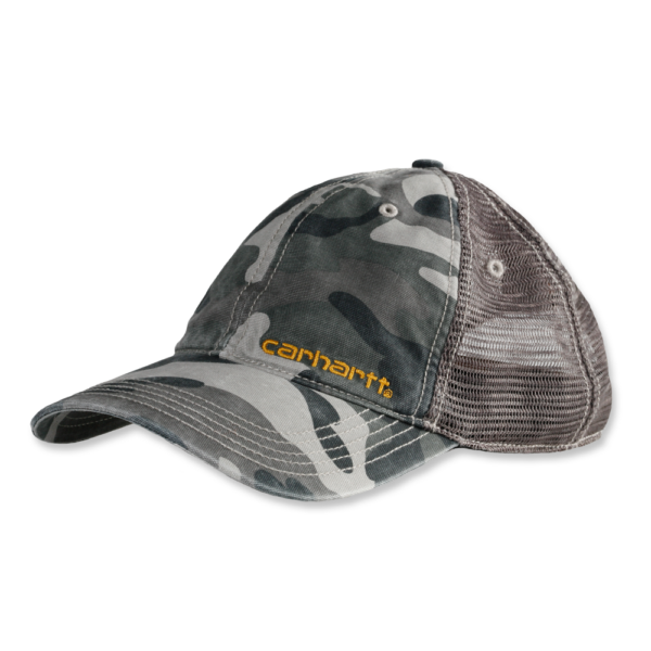 Carhartt - BRANDT CAP OFA RUGGED GREY CAMO