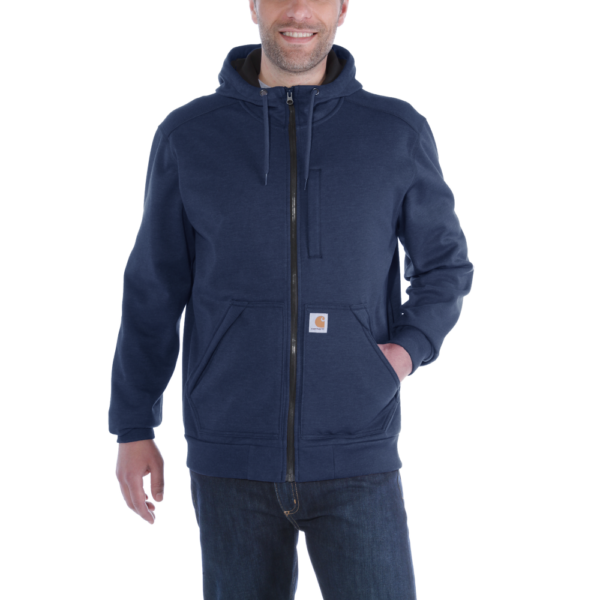 Carhartt - WIND FIGHTER HOODED SWEATSHIRT S NAVY
