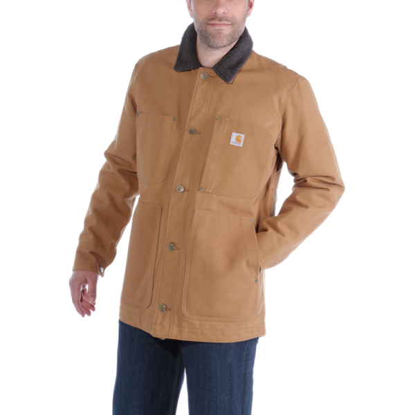 Carhartt - FULL SWING CHORE COAT S CARHARTT® BROWN