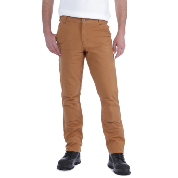 Carhartt - STRETCH DUCK DOUBLE FRONT W30/L30 CARHARTT® BROWN