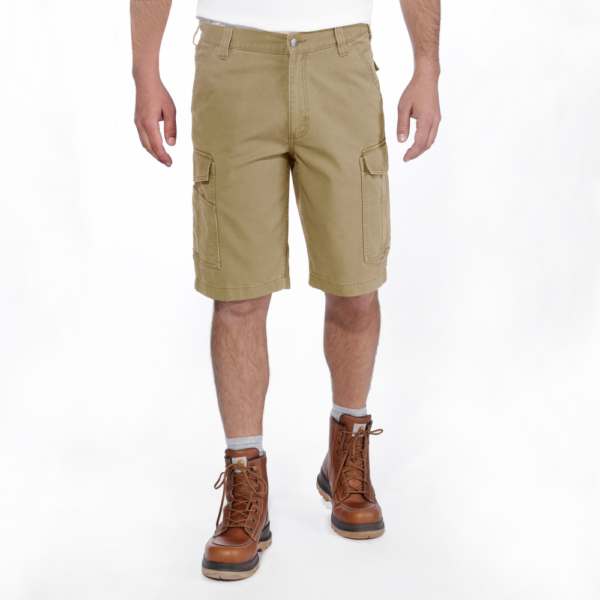 Carhartt - RIGBY RUGGED CARGO SHORT W28 DARK KHAKI