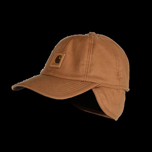 Carhartt - WORK FLEX EAR FLAP CAP M/L CARHARTT® BROWN