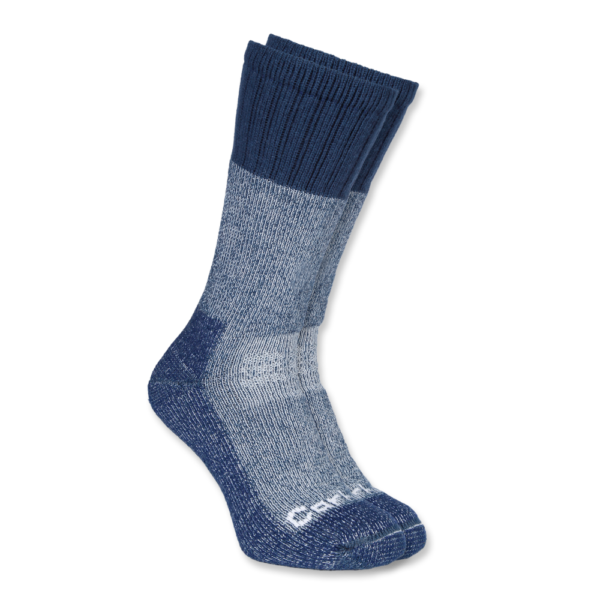 Carhartt - COLD WEATHER BOOT SOCK M NAVY