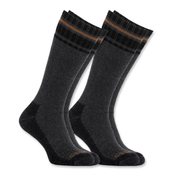 Carhartt - COLD WEATHER THERMAL SOCK 2-PAIR L GRAY