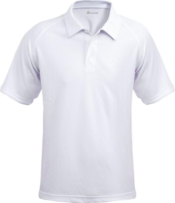 Fristads - Acode CoolPass Poloshirt 1716 COL Weiß S