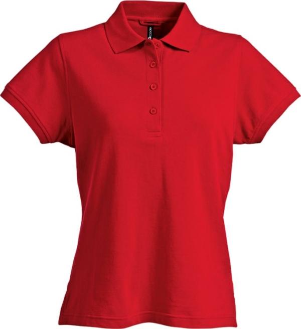 Fristads - Acode Poloshirt Damen 1723 PIQ Rot S