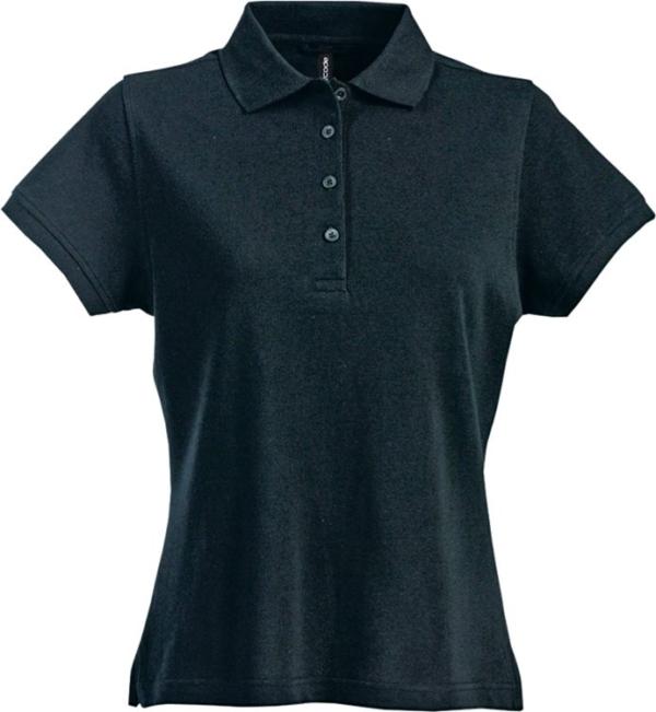 Fristads - Acode Poloshirt Damen 1723 PIQ Schwarz S