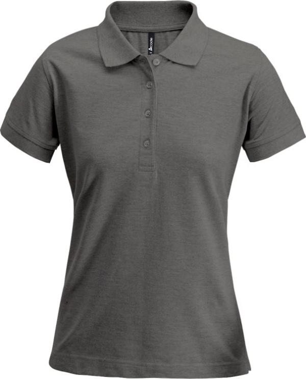 Fristads - Acode Poloshirt Damen 1723 PIQ Dunkelgrau S