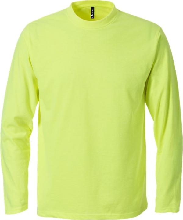 Fristads - Acode T-Shirt Langarm 1914 HSJ Leuchtendes Gelb S