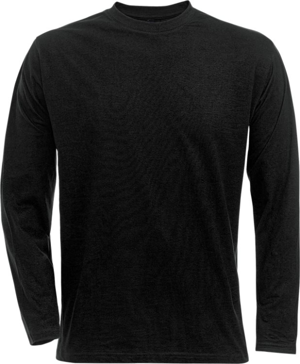 Fristads - Acode T-Shirt Langarm 1914 HSJ Schwarz S