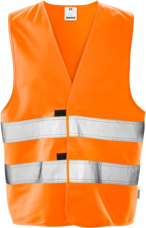 Fristads - High Vis Weste Kl. 2 501 H Warnschutz-Orange XS