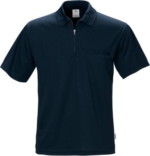 Fristads - Coolmax® Poloshirt 718 PF Dunkelblau XS