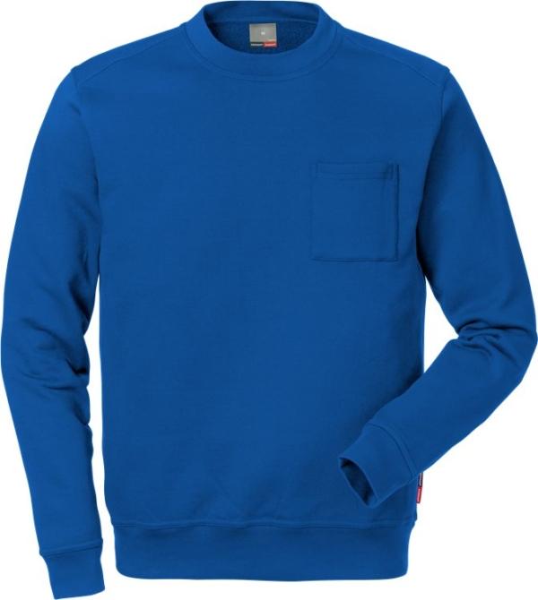 Fristads - Sweatshirt 7394 SM Königsblau XS