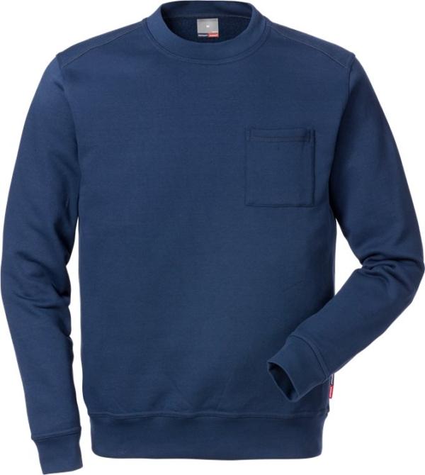 Fristads - Sweatshirt 7394 SM Dunkelblau XS