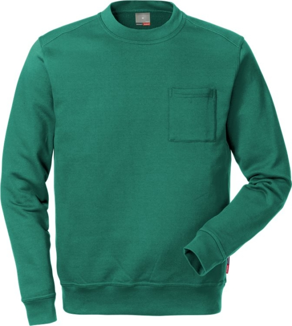 Fristads - Sweatshirt 7394 SM Grün XS