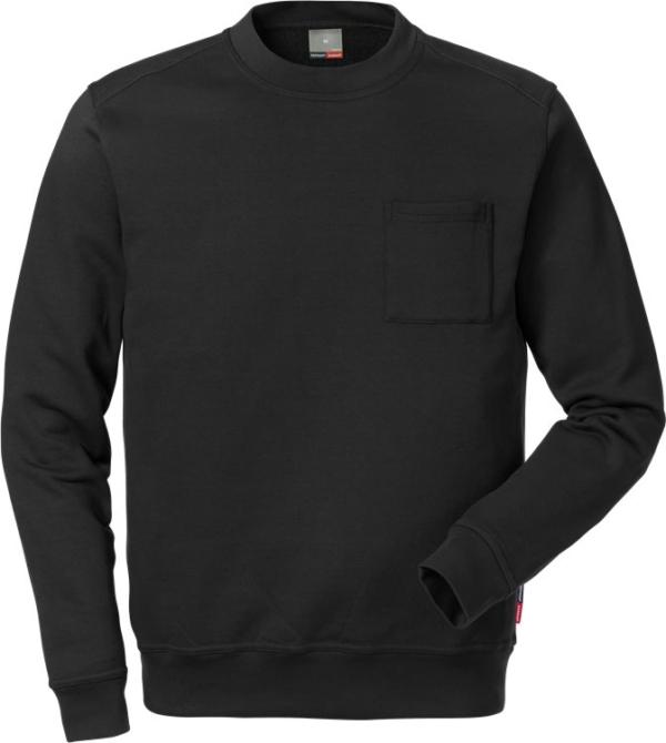 Fristads - Sweatshirt 7394 SM Schwarz XS