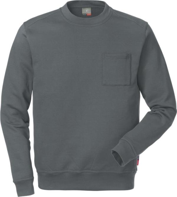 Fristads - Sweatshirt 7394 SM Dunkelgrau XS