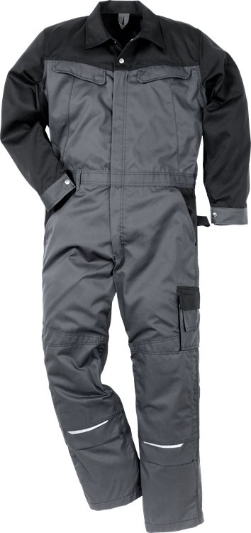 Fristads - Icon Two Overall 8612 LUXE Grau/Schwarz XS