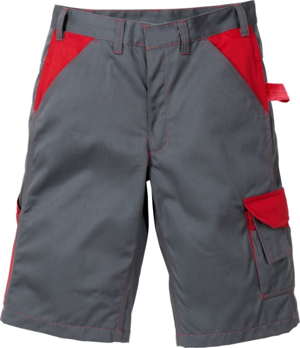 Fristads - Icon Two Shorts 2020 LUXE Grau/Rot C42