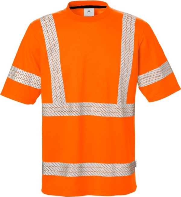 Fristads - High Vis T-Shirt Kl. 3 7407 THV Warnschutz-Orange XS