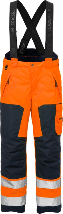 Fristads - High Vis Airtech® Winterhose Kl. 2 2035 GTT Warnschutz-Orange/Marine XS
