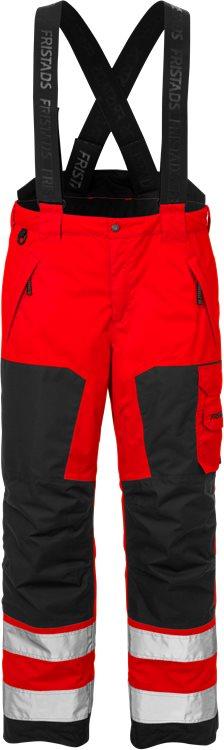 Fristads - High Vis Airtech® Winterhose Kl. 2 2035 GTT Warnschutz-Rot/Schwarz XS
