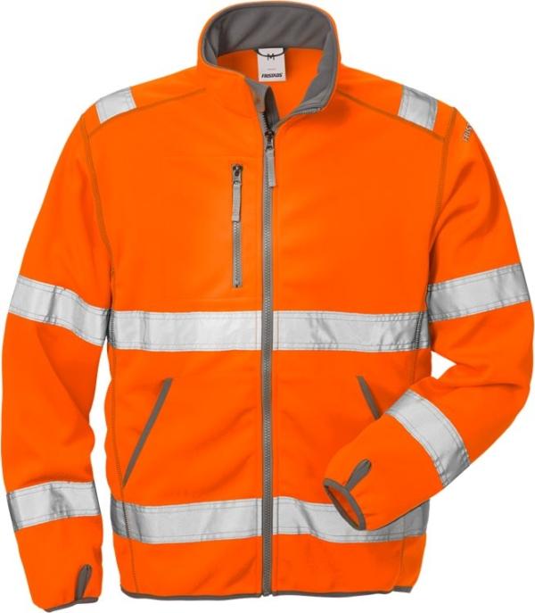Fristads - High Vis Softshell-Jacke Kl. 3 4840 SSL Warnschutz-Orange XS