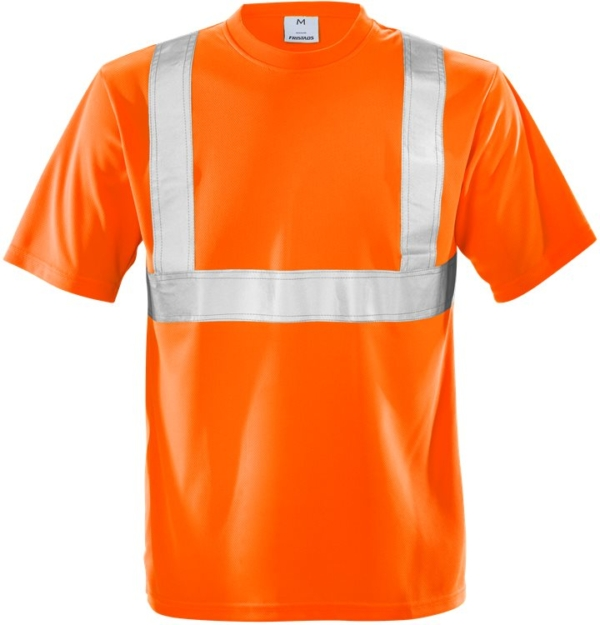 Fristads - High Vis T-Shirt Kl. 2 7411 TP Warnschutz-Orange XS