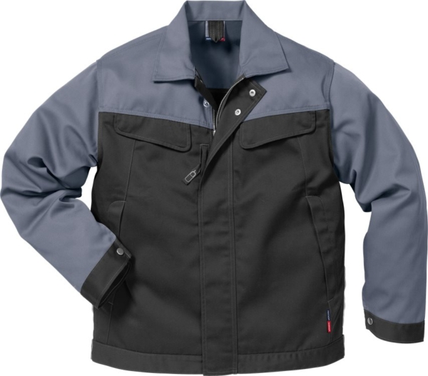 Fristads - Icon Two Jacke 4857 LUXE Schwarz/Grau XS