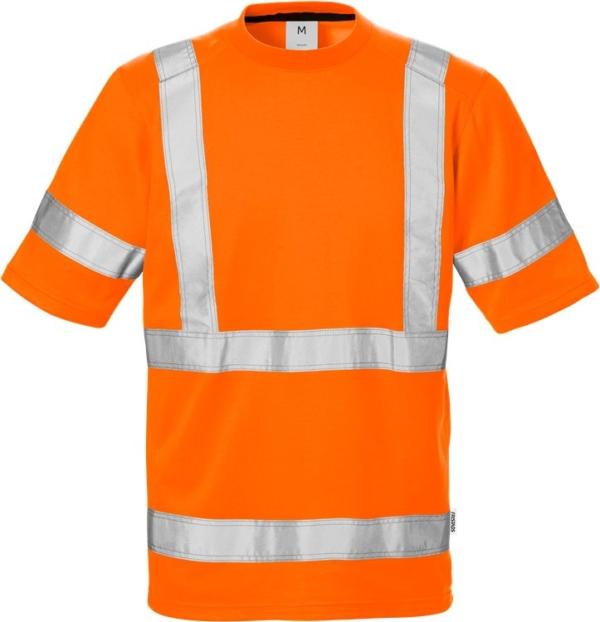 Fristads - High Vis T-Shirt 7024 Kl. 3 THV Warnschutz-Orange XS