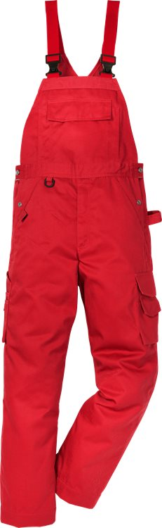 Fristads - Icon One Latzhose 1111 LUXE Rot C42