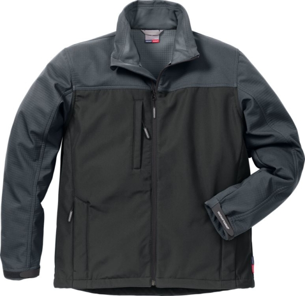 Fristads - Icon Two Softshell-Jacke 4119 SSR Schwarz/Grau S