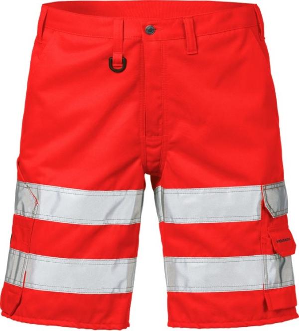 Fristads - High Vis Shorts Kl. 2 2528 THL Warnschutz-Rot C44