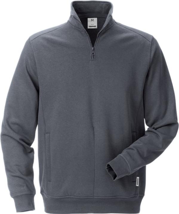Fristads - Sweatshirt 7607 SM Dunkelgrau S