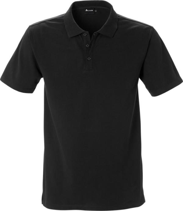 Fristads - Acode Stretch-Poloshirt 1799 JLS Schwarz S