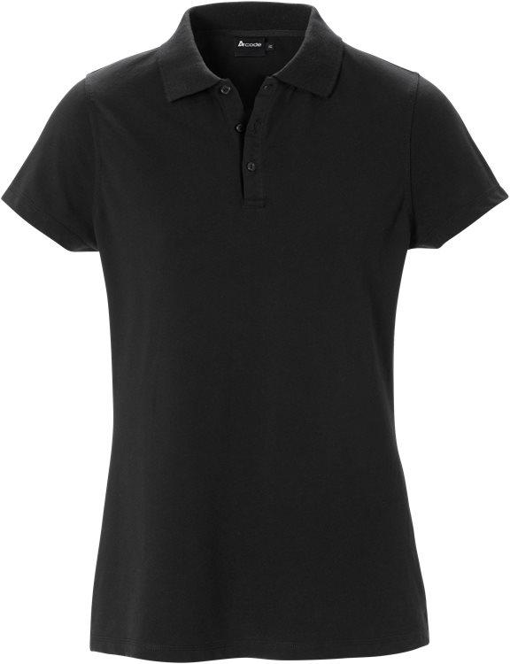 Fristads - Acode Stretch-Poloshirt Damen 1798 JLS Schwarz S